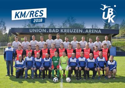 Kampfmannschaft / Reserve 2018