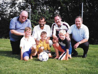 20 Jahre Fussball-Trainingsplatz: Eröffnung am 1. August 1999