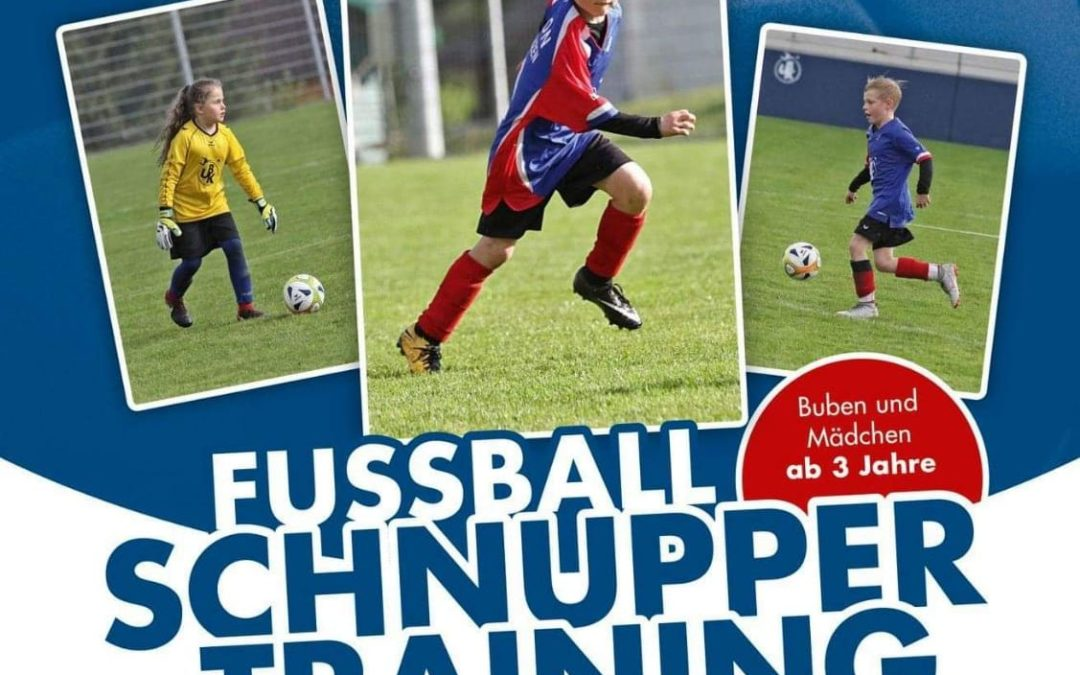 Schnupper-Training für kleine Kicker
