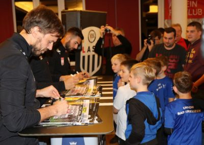 Lask Stammtisch Autogramme & Kids 19. November 2019 GH Schiefer (Foto Rumetshofer Gerhard)
