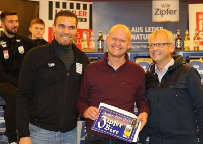 Lask Stammtisch Gewinner Zipfer Jahresbedarf Bad Kreuzen 19. November 2019 GH Schiefer (Foto Rumetshofer Gerhard)