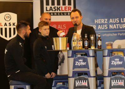 Lask Stammtisch Rumetshofer Simon Ziehung Gewinnspiel II Bad Kreuzen 19. November 2019 GH Schiefer (Foto Rumetshofer Gerhard)