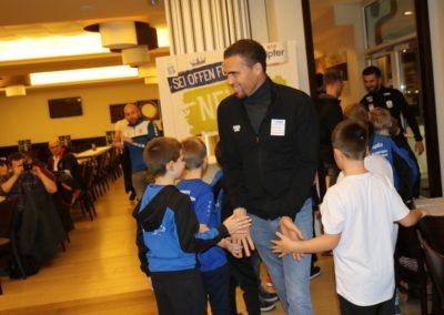 Lask Stammtisch Valerien Ismael & Kids Bad Kreuzen 19. November 2019 GH Schiefer (Foto Rumetshofer Gerhard)
