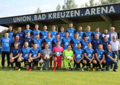 UBK Team 2 Mannschaftsfoto Mit Bürgermeister August 2020 (Foto Gerhard Rumetshofer)