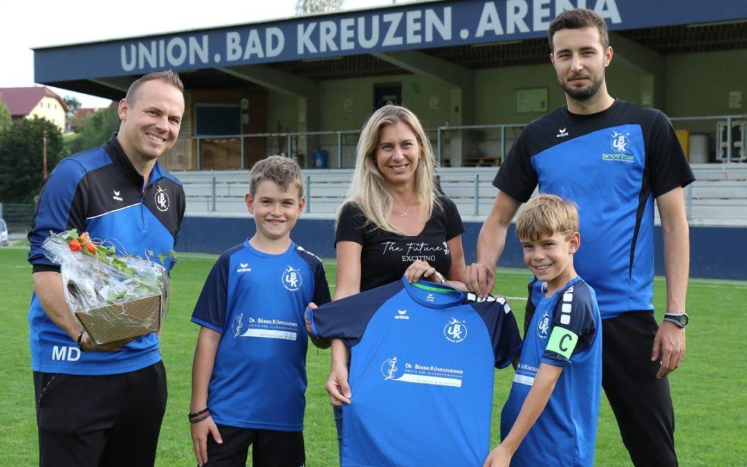 Neue Dress für UBK-Youngsters! Danke an Dr. Bärbel Königslehner!