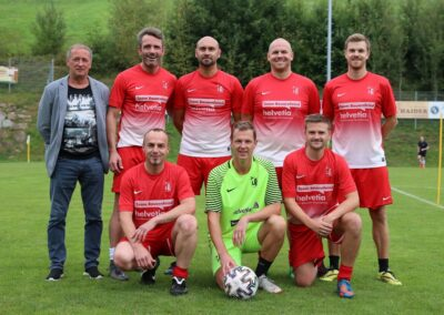 UBK Ortsmeisterschaft 2021 Ortsmeister Oldies Siegerteam 18. September 2021 (Foto Rumetshofer Gerhard)